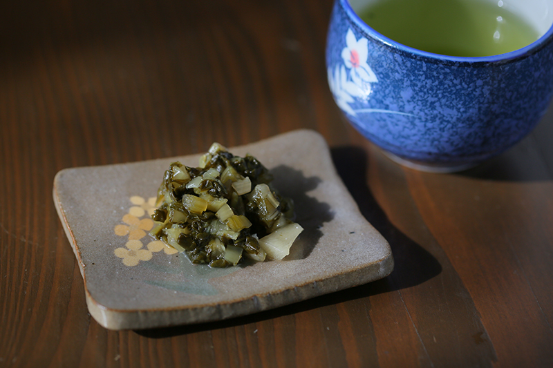 なぜ『のんびり熟した野沢菜漬け』には「蕪」が入っているのか?